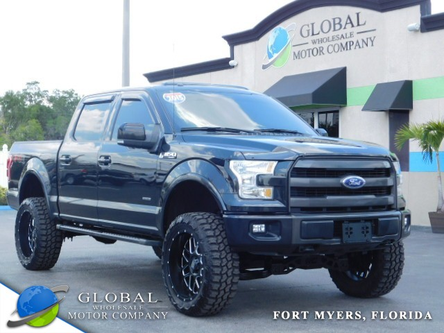 2015 Ford F-150 LARIAT at Global Wholesale Motor Co INC. in Fort Myers FL