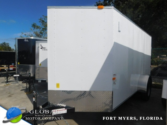 2019 Lark VTX08SA 5 x 8 ENCLOSED TRAILER at Global Wholesale Motor Co INC. in Fort Myers FL