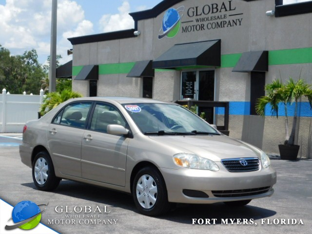 2007 Toyota Corolla   at Global Wholesale Motor Co INC. in Fort Myers FL