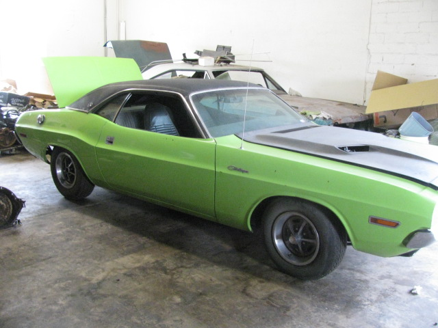 1970 Dodge Challenger RT/SE at Lucas Mopars in Cuero TX