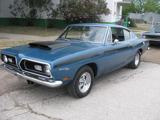 1969 Plymouth Barracuda SPORTS FASTBACK at Lucas Mopars in Cuero TX