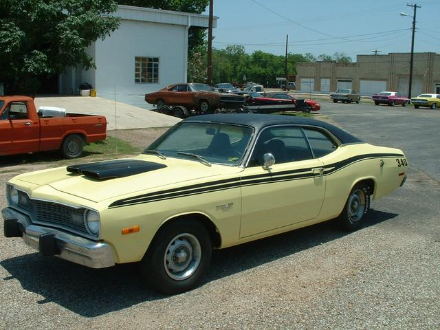 1973 Dodge Dart   at Lucas Mopars in Cuero TX