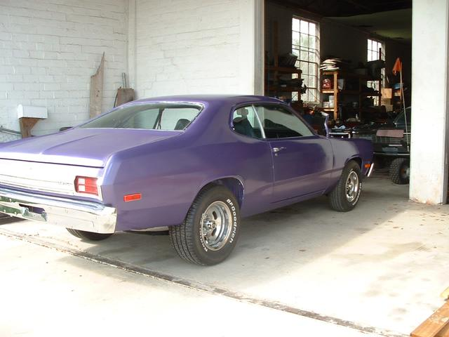 1975 Plymouth Duster   at Lucas Mopars in Cuero TX