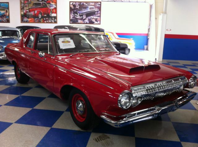 1963 Dodge coronet 330 Max Wedge at Lucas Mopars in Cuero TX