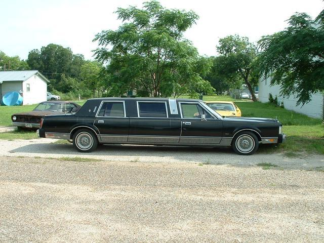 1985 Lincoln town car LIMO   at Lucas Mopars in Cuero TX