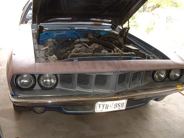 1971 Plymouth Barracuda   at Lucas Mopars in Cuero TX