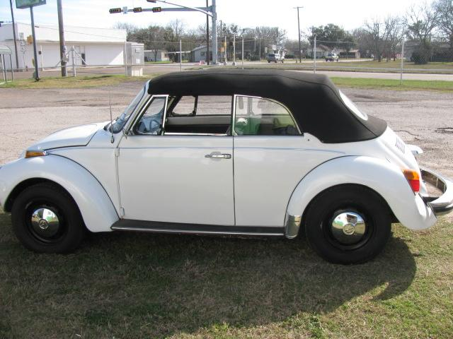 1976 Volkswagen Karmann CONVERTIBLE at Lucas Mopars in Cuero TX