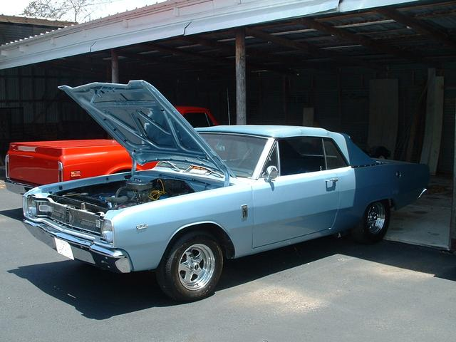 1967 Dodge Dart G/T CONVERTIBLE at Lucas Mopars in Cuero TX