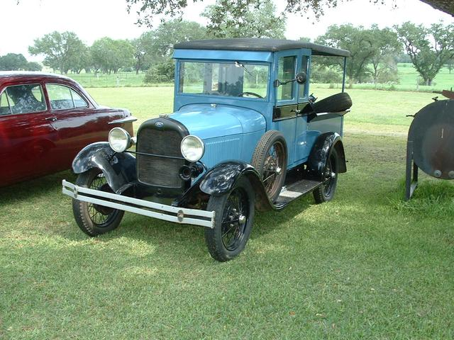 1929 Ford Model A HUCKSTER at Lucas Mopars in Cuero TX