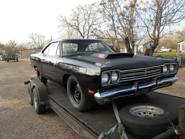 1969 Plymouth Roadrunner 69 1/2 M CODE at Lucas Mopars in Cuero TX