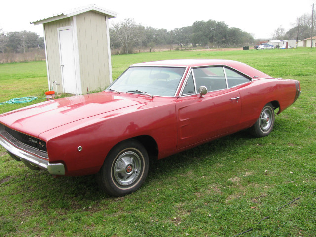 1968 Dodge Charger R/T at Lucas Mopars in Cuero TX