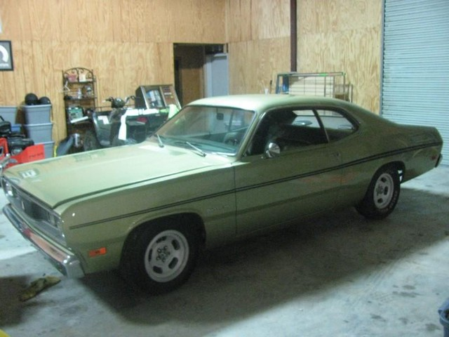 1970 Plymouth Duster   at Lucas Mopars in Cuero TX