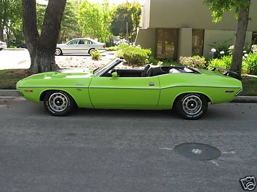1970 Dodge Challenger R/T CONVERTIBLE at Lucas Mopars in Cuero TX