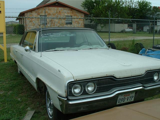 1966 Dodge Monaco  at Lucas Mopars in Cuero TX