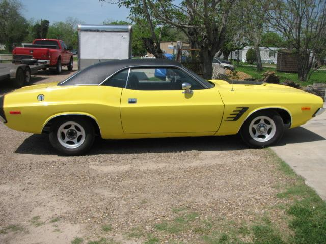 1973 Dodge Challenger   at Lucas Mopars in Cuero TX