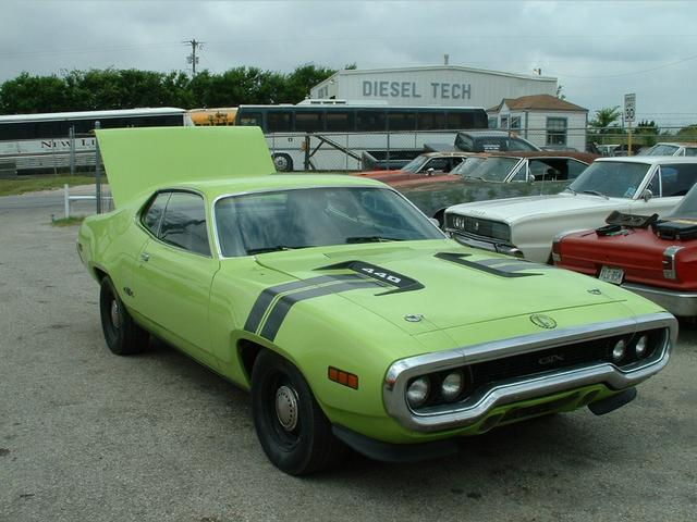 1971 Plymouth GTX  at Lucas Mopars in Cuero TX