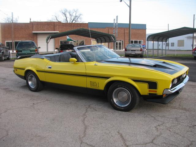 1972 Ford Mustang convertible at Lucas Mopars in Cuero TX