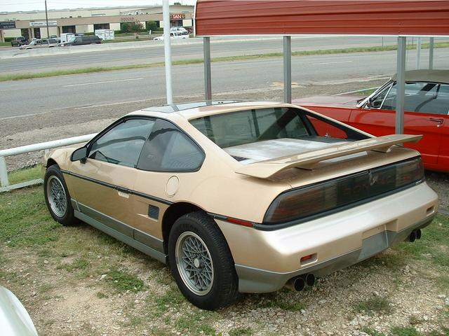 1986 Pontiac Fiero  at Lucas Mopars in Cuero TX