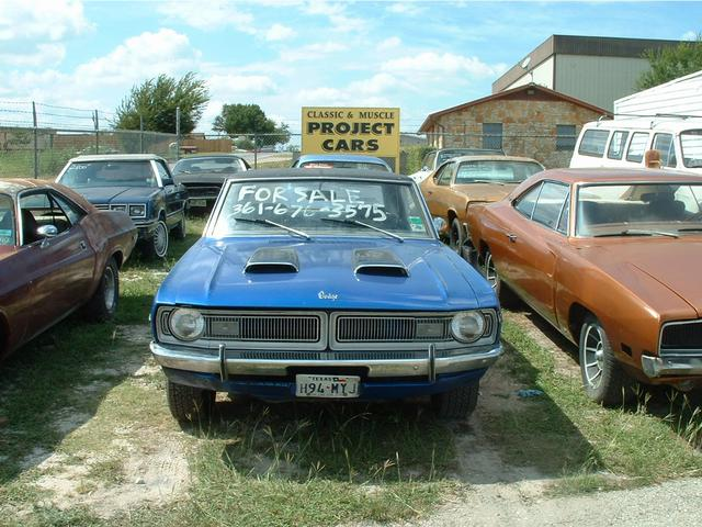 1970 Dodge Dart  at Lucas Mopars in Cuero TX
