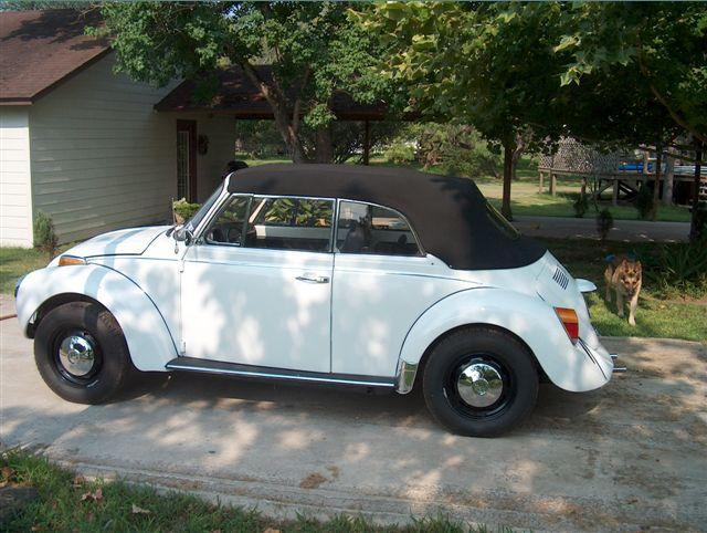 1976 Volkswagen Beetle Karman at Lucas Mopars in Cuero TX
