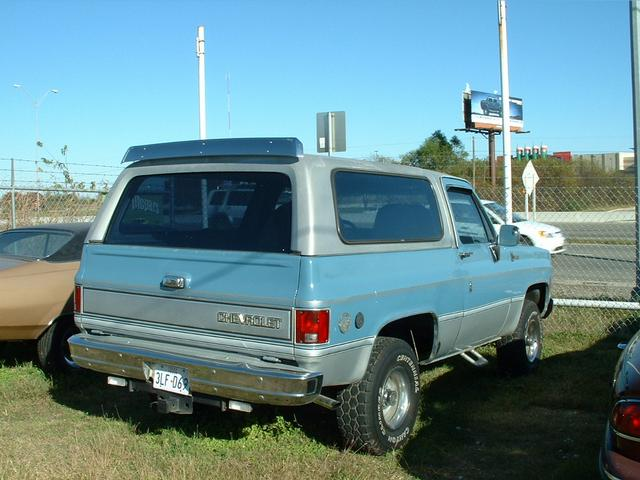 1976 Chevrolet Blazer  at Lucas Mopars in Cuero TX