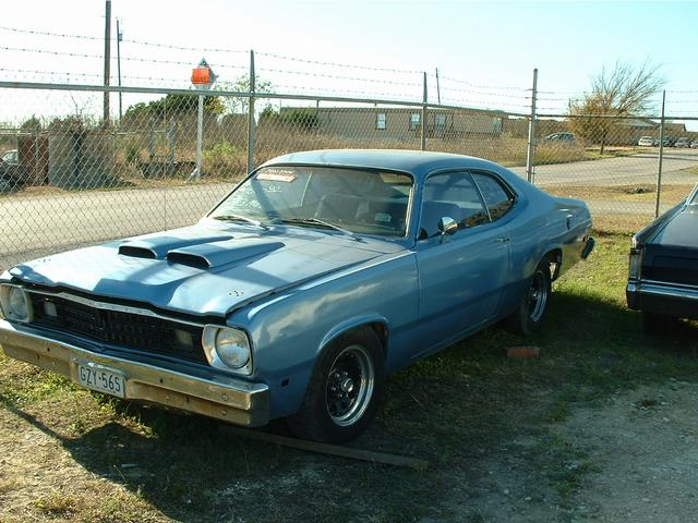1973 Plymouth Duster  at Lucas Mopars in Cuero TX