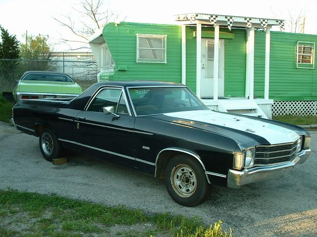 1972 Chevrolet El Camino  at Lucas Mopars in Cuero TX