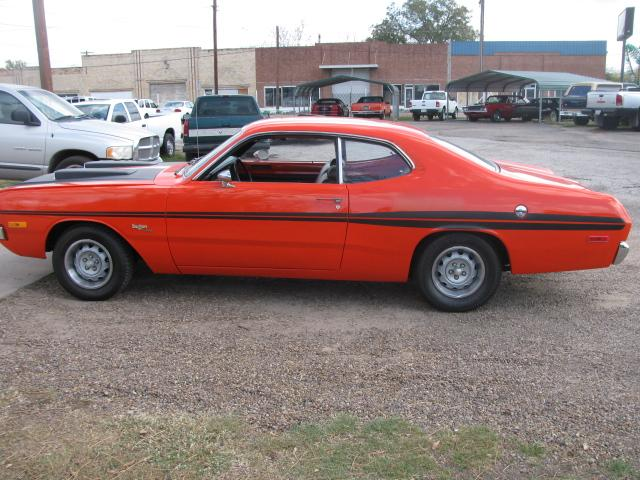 1972 Dodge Dart DEMON at Lucas Mopars in Cuero TX