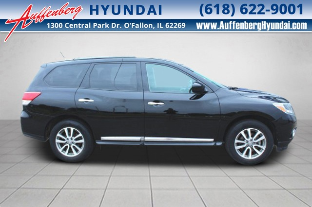 2014 Nissan Pathfinder SL at Auffenberg Hyundai in O'Fallon IL