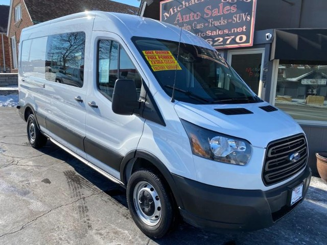 "2019 Ford Transit Van T-250 148"" Med Roof LWB at Michael Riggio Auto Sales in St. Louis MO"