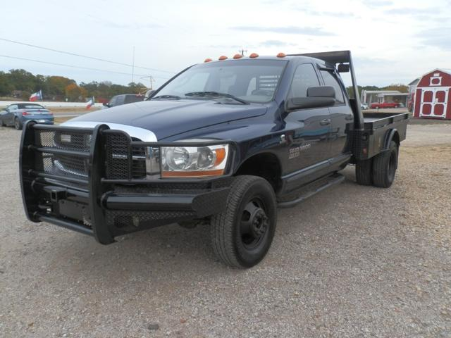2006 Dodge Ram 3500 QUAD CAB 4X4 at Texas Frontline Trucks in Canton TX