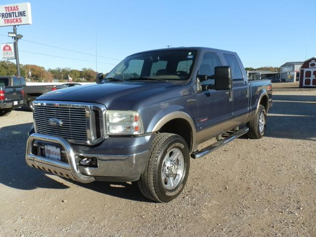 2006 Ford Super Duty F-250 CREW CAB LARIAT 4X4 at Texas Frontline Trucks in Canton TX