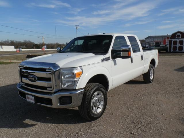2016 Ford Super Duty F-250 SRW CREW CAB 4X4 at Texas Frontline Trucks in Canton TX