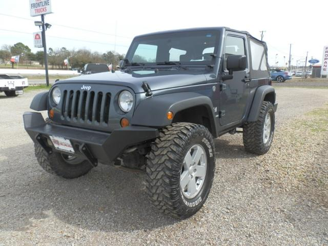 2008 Jeep Wrangler X at Texas Frontline Trucks in Canton TX