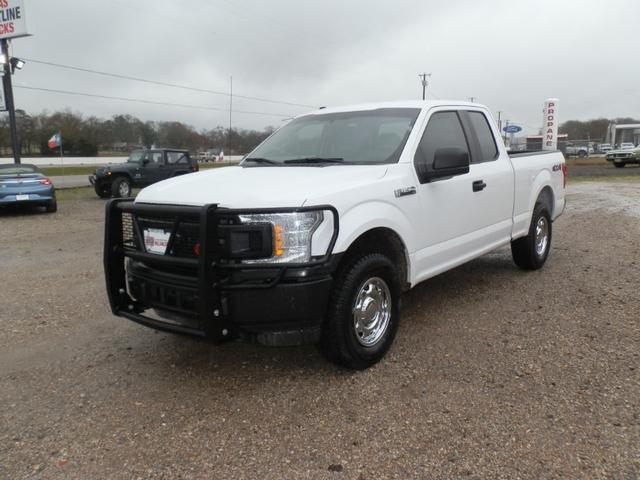 2018 Ford F-150 EXT CAB 4X4 at Texas Frontline Trucks in Canton TX