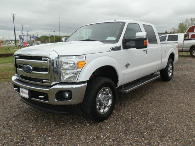 2015 Ford Super Duty F-250 SRW CREW CAB 4X4 LARIAT at Texas Frontline Trucks in Canton TX