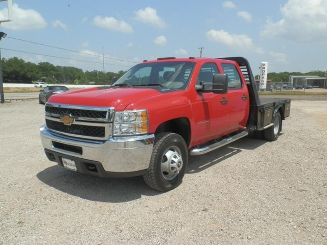2012 Chevrolet Silverado 3500HD CREW CAB 4X4 at Texas Frontline Trucks in Canton TX