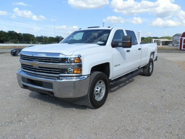 2018 Chevrolet Silverado 2500HD CREW CAB 4X4 at Texas Frontline Trucks in Canton TX