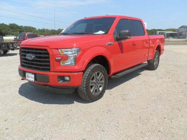2016 Ford F-150 CREW CAB 4X4 at Texas Frontline Trucks in Canton TX