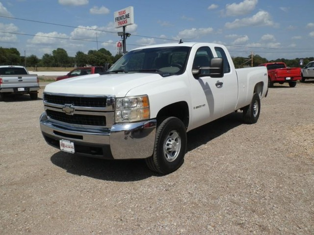 2009 Chevrolet Silverado 2500HD EXT CAB 4X4 at Texas Frontline Trucks in Canton TX