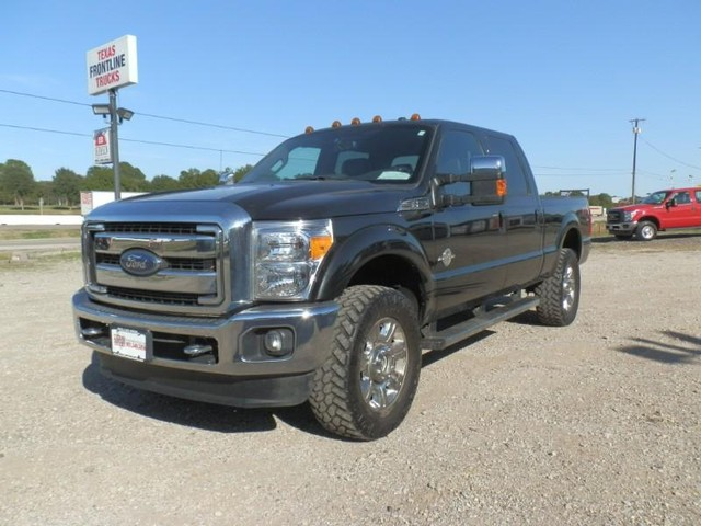 2015 Ford Super Duty F-250 CREW CAB LARIAT at Texas Frontline Trucks in Canton TX