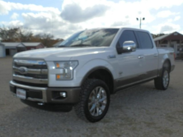 2016 Ford F-150 KING RANCH FX4 4X4 at Texas Frontline Trucks in Canton TX
