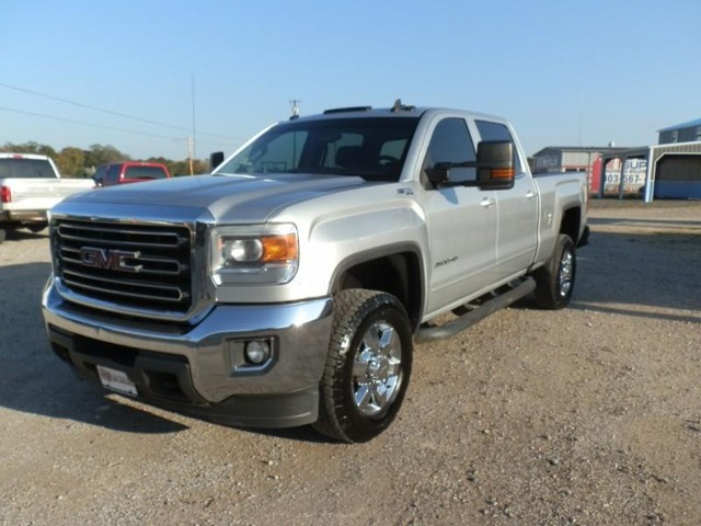 2015 GMC Sierra 2500HD CREW CAB Z-71 4X4 at Texas Frontline Trucks in Canton TX