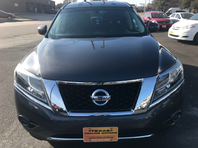 2014 Nissan Pathfinder S at Texas Topline Motors in Dallas TX