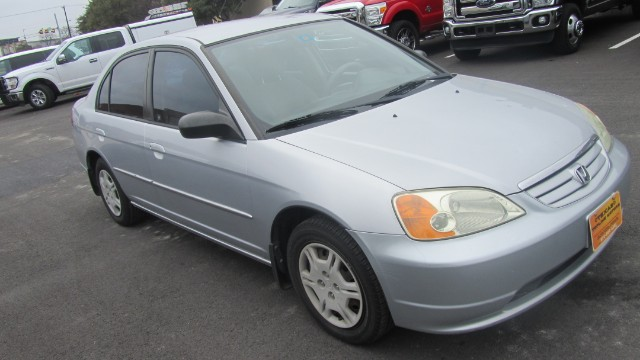2002 Honda Civic LX at Texas Topline Motors in Dallas TX