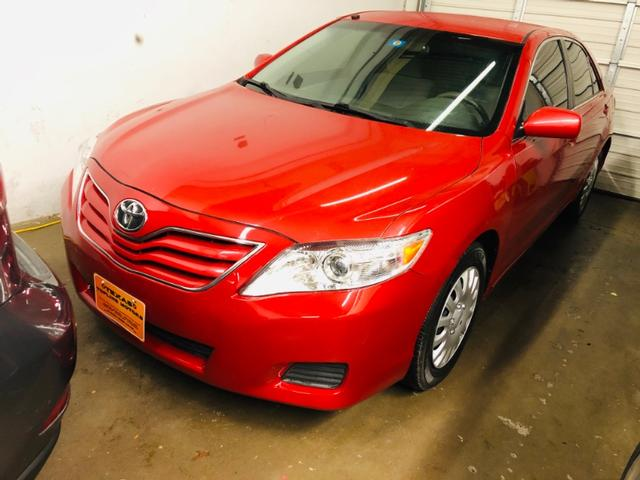 2010 Toyota Camry LE at Texas Topline Motors in Dallas TX