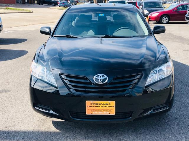 2009 Toyota Camry LE at Texas Topline Motors in Dallas TX