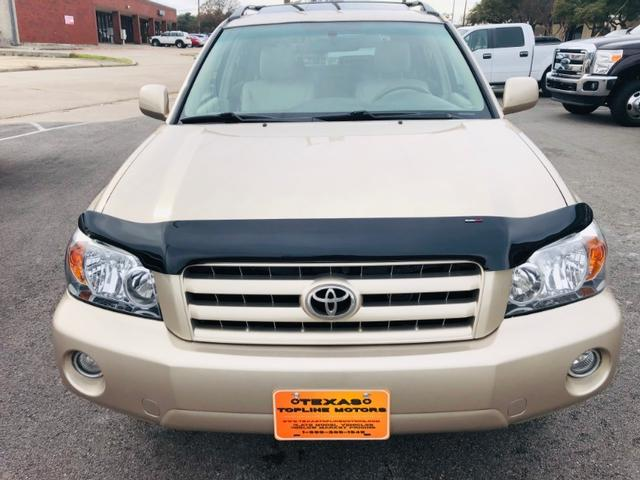 Toyota Highlander Sport w/3rd Row - Dallas TX