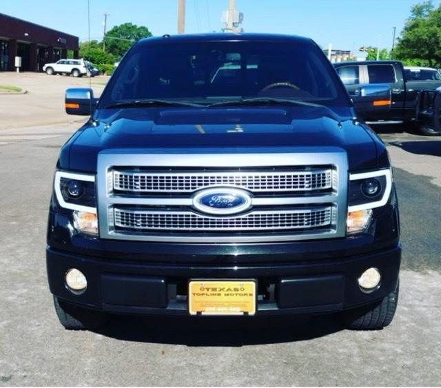 2010 Ford F-150 2WD Platinum SuperCrew at Texas Topline Motors in Dallas TX