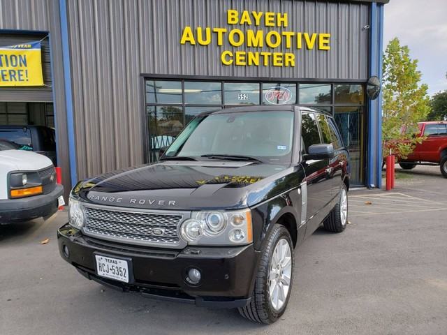 2007 Land Rover Range Rover SC at Bayeh Auto Sales in San Antonio TX